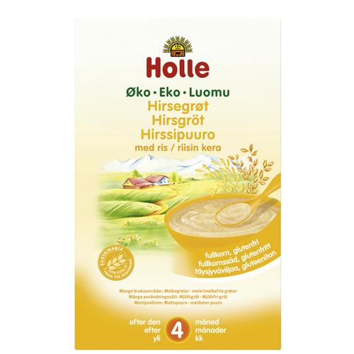 Hirsegrød økologisk 250gr fra Holle