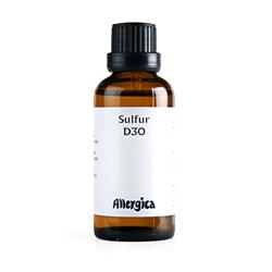 Sulfur D30 50 ml fra Allergica