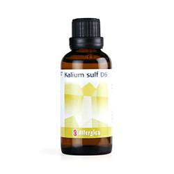 Kalium sulf. D6: Cellesalt nr. 6  50 ml fra Allergica