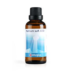 Natrium sulf. D30: Cellesalt nr. 10 50 ml fra Allergica