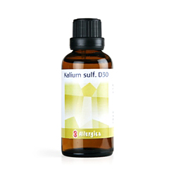 Kalium sulf.D30: Cellesalt nr. 6 50ml fra Allergica Amba