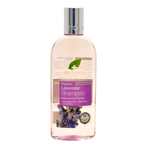 Shampoo lavendel 250ml fra Dr. Organic