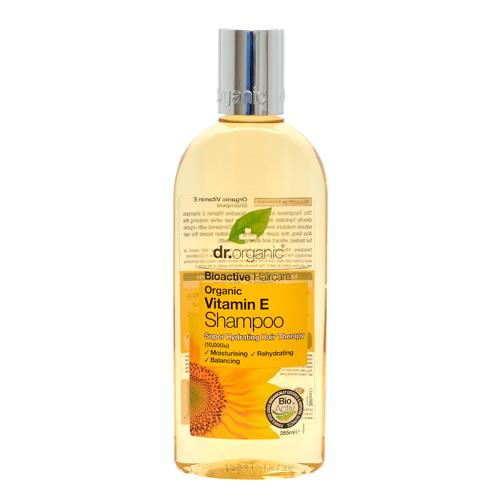Shampoo Vitamin E 250ml fra Dr. Organic