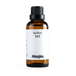 Sulfur D12 50 ml fra Allergica