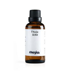 Thuja D30 50 ml fra Allergica