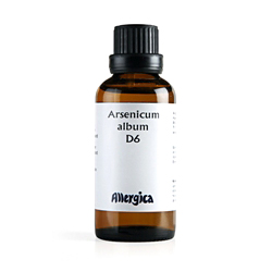 Image of   Arsenicum alb. D6 50 ml fra Allergica Amba