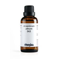 Image of   Arsenicum album D12 50 ml fra Allergica Amba