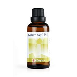 Kalium sulf. D12: Cellesalt nr. 6 50 ml