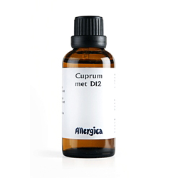 Image of   Cuprum metallicum D12 50 ml fra Allergica