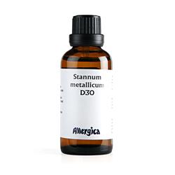Stannum met. D30 50 ml fra Allergica