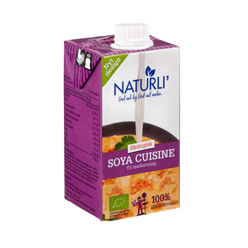Image of Naturli Soya Cuisine økologisk 250 ml fra Naturli' Foods