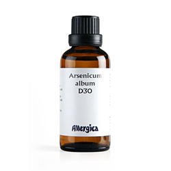 Image of   Arsenicum alb. D30 50 ml fra Allergica Amba
