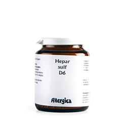 Image of   Hepar sulf. D6, trit 50 gr fra Allergica
