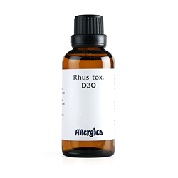 Rhus tox D30 50 ml fra Allergica