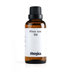 Rhus tox D6 50 ml fra Allergica