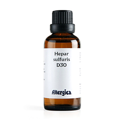 Image of   Hepar sulf. D30 50 ml fra Allergica
