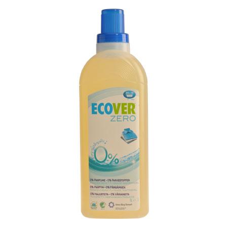 Tilbud på Flydende tøjvask kulørt 1,0ltr fra Ecover