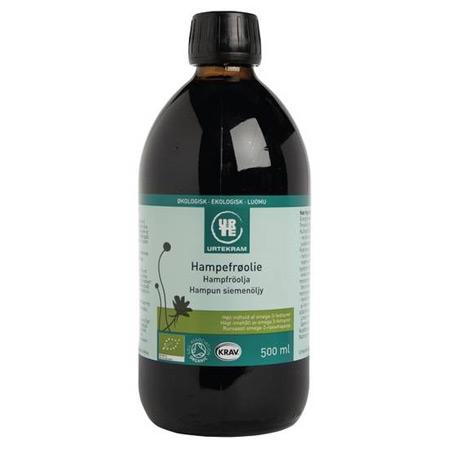 Image of Hampefrøolie økologisk 500 ml fra Urtekram