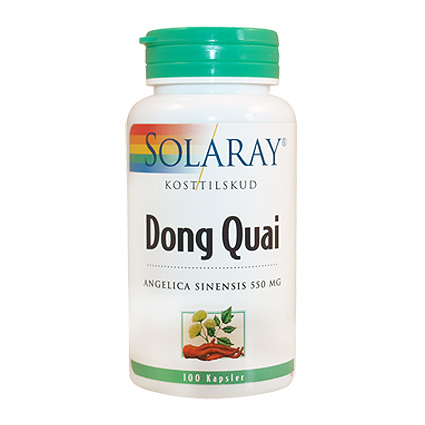 Image of   Dong Quai 100 kap fra Solaray