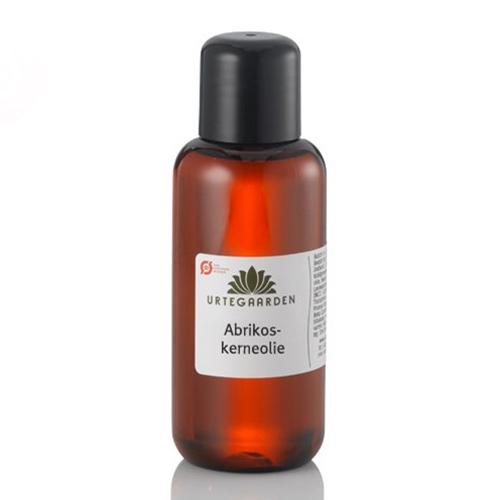 Image of   Abrikoskerne olie økologisk 100 ml fra Urtegaarden
