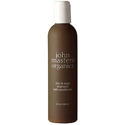 Shampoo m.balsam Zinc & Sage fra John Masters