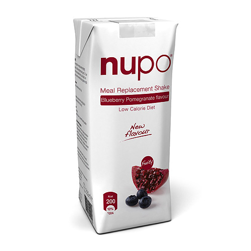 Nupo shake Blueberry & Pomegranate 330 gr