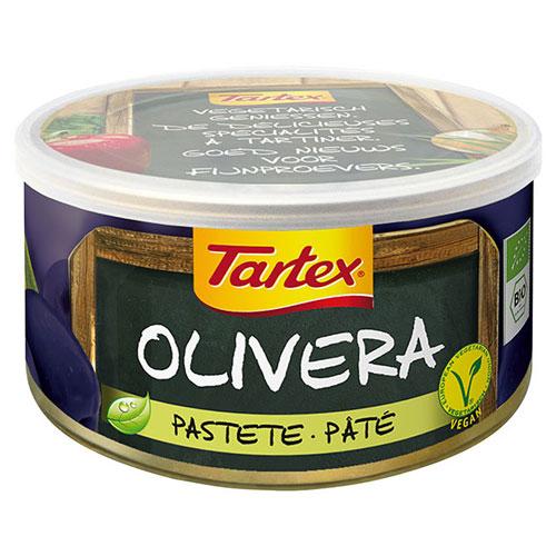 Image of Oliven Postej i dåse 125gr økologisk fra Tartex