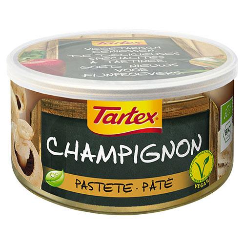 Image of Champignon Postej i dåse økologisk 125gr fra Tartex