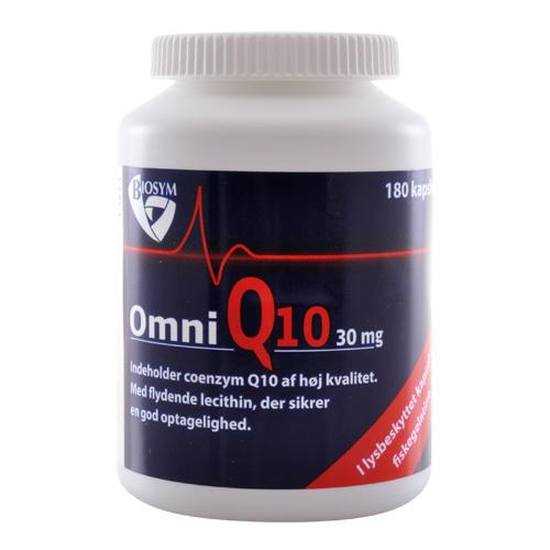 Image of   Biosym OmniQ10 30 mg (180 kapsel)