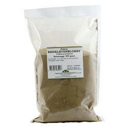 Rødkløverblomst pulver 250gr fra Naturdrogeriet