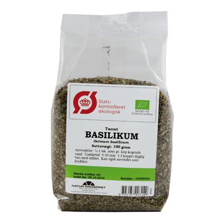 Image of   Basilikum økologisk 100gr Naturdrogeriet