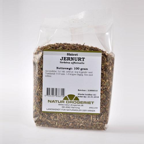 Jernurt alm. skåret 100 gr fra Naturdrogeriet