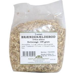 Image of   Brændenælderod 100gr fra Naturdrogeriet