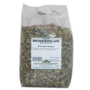 Image of   Brombærblade 100 gr fra Naturdrogeriet