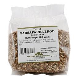 Sarsaparillerod 100 gr pulver fra Naturdrogeriet