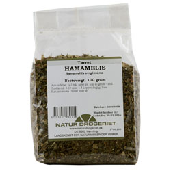 Image of   Hamamelis 100gr fra Naturdrogeriet
