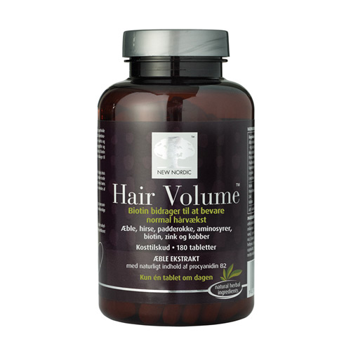 Hair volume 180 tab fra New Nordic Healthcare