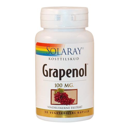 Grapenol Extrakt vindrue 100 mg 30 kap