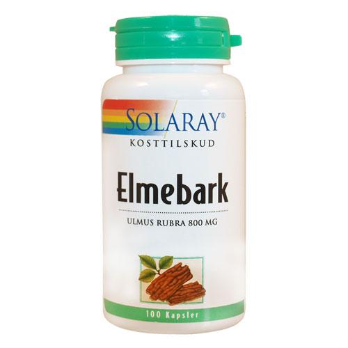 Elmebark slippery elm 400 mg 100 kap
