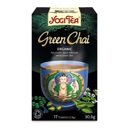 Yogi green Chai Økologisk 17 breve