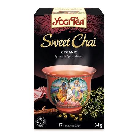 Yogi te Sweet Chai økologisk 17 breve