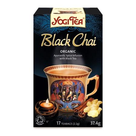 Image of   Yogi Black Chai Økologisk 17 breve