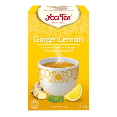 Image of   Yogi Ginger lemon økologisk 17 breve