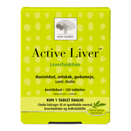 Image of Active Liver 120 tab fra New Nordic Healthcare