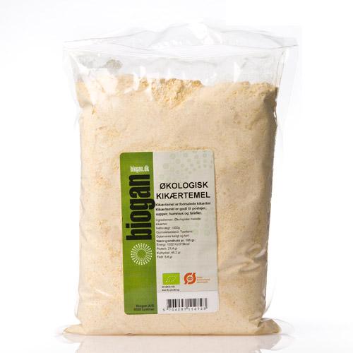 Kikærtemel økologiske 1000gr fra Biogan