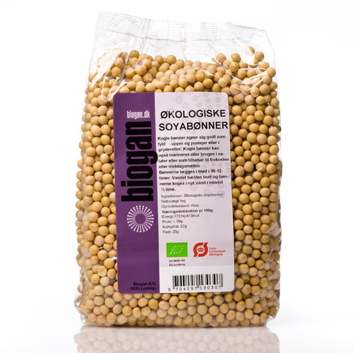 Biogan soyabønner fra Helse Helse