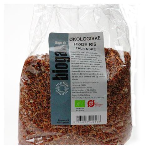 Røde ris 1000gr fra Biogan