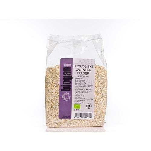 Image of Quinoa flager økologisk Glutenfri 400gr fra Biogan