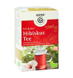 Image of   Hibiscus te Fairtrade økologisk 20 breve
