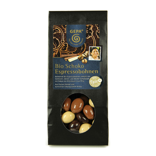 Image of   Kaffebønner i chokolade 100gr